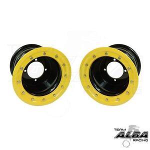YFZ 450 YFZ 450R   Rear Wheels  Beadlock 10x8  3+5  4//115  Alba  P W
