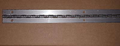 .062 Stainless Steel Piano Hinge 42 x 1-1//2 HOLES Cabinet//Door//Boat Continuous