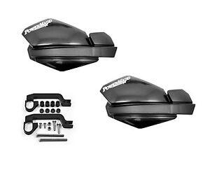 Powermadd Honda 300EX Star Handguards Black//Black with Mounting Kit