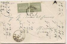 P5247    Torino, per Nicosia (Catania) 1864