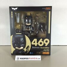 "IN STOCK Good Smile Company Nendoroid ""Batman"" Hero's Edition 469 Action Figure"