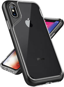For Apple iPhone X Caseology® [SKYFALL] Shockproof Bumper Slim Clear Case Cover