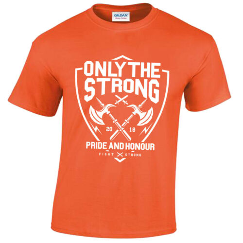 The Strong T-Shirt Mens S-5XL pride and honour gym training warrior