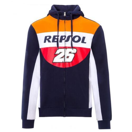 2018 Dani Pedrosa #26 Mens Hoodie Hoody Zull Zip Sweatshirt Repsol Honda MotoGP
