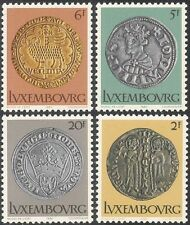 Luxembourg 1980 Coins/Money/Currency/Commerce/Business/History 4v set (n43491)