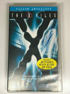 The-X-Files-VHS-Video-Tape-The-X-Files-x2-Titles-FALLEN-ANGEL-EVE-VGC