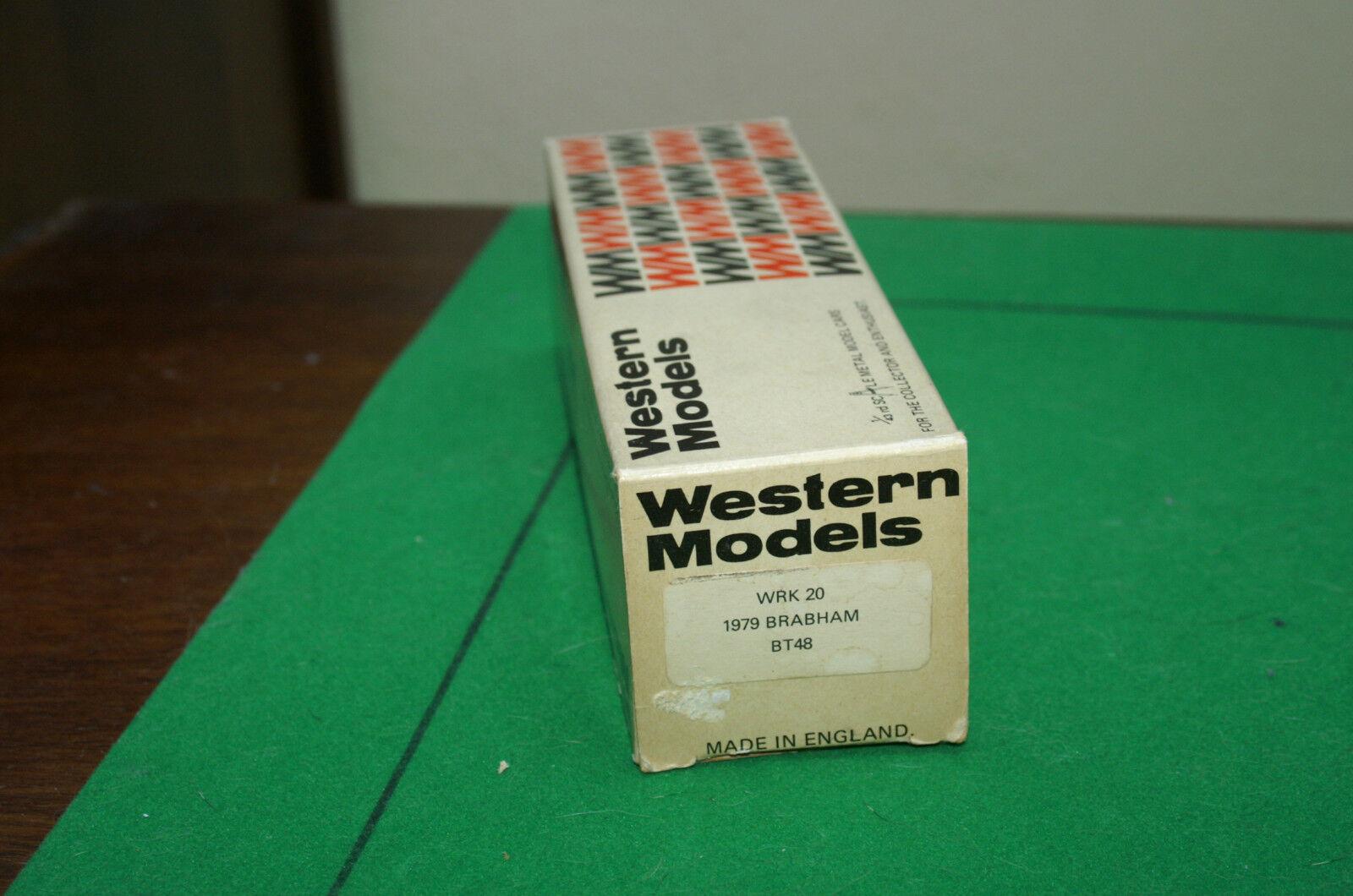 WESTERN MODELS 1/43 SCALE - WRK20 1979 BRABHAM BT48