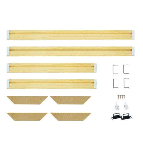 Premium Pine Canvas Stretcher Bars Frames Print Kits for Office Gallery Wall Art