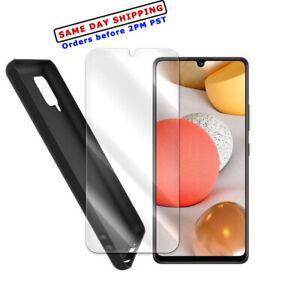 Screen Protector TPU Case for Verizon/Xfinity Mobile Samsung Galaxy A42 5G A426U