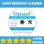 SONY-PC-Registry-Cleaner-Mechanic-Tools-Repair-Recovery-Windows-XP-VISTA-7-8-10 縮圖 1