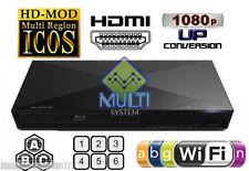 Sony BDP-S3200 Region Free DVD and BD ZONE A B C Blu-Ray Disc Player- WIFI- USB