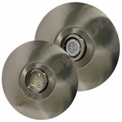 LED Aluminium Einbaustrahler Set Einbauleuchte Spot DISC-RUND1 12V// 230V CR181