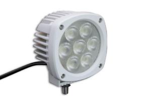 35 watt 12v WHITE Marine LED Spot light T Top Spreader Light LED Boat Light