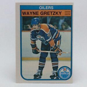 1982-83-OPC-O-Pee-Chee-Wayne-Gretzky-106-Edmonton-Oilers-Hockey-Card-F078