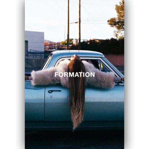 Beyonce Formation New Silk Poster Custom Wall Decor
