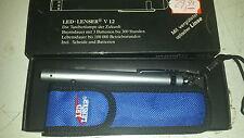 Sehr hochwertiger LED LENSER BLAU LEUCHTEND PROFI m.TASCHE! V12