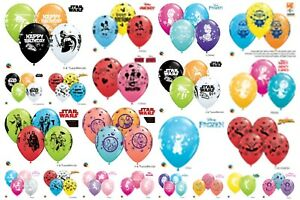 5-Licensed-Character-11-034-Helium-Air-Latex-Balloons-Children-039-s-Birthday-Party