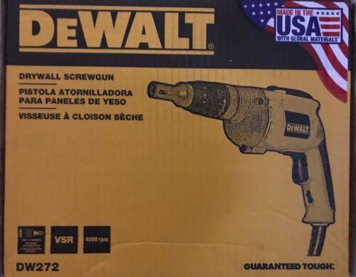 NEW IN THE BOX DEWALT DW272 6.03 amp Drywall Screwdriver