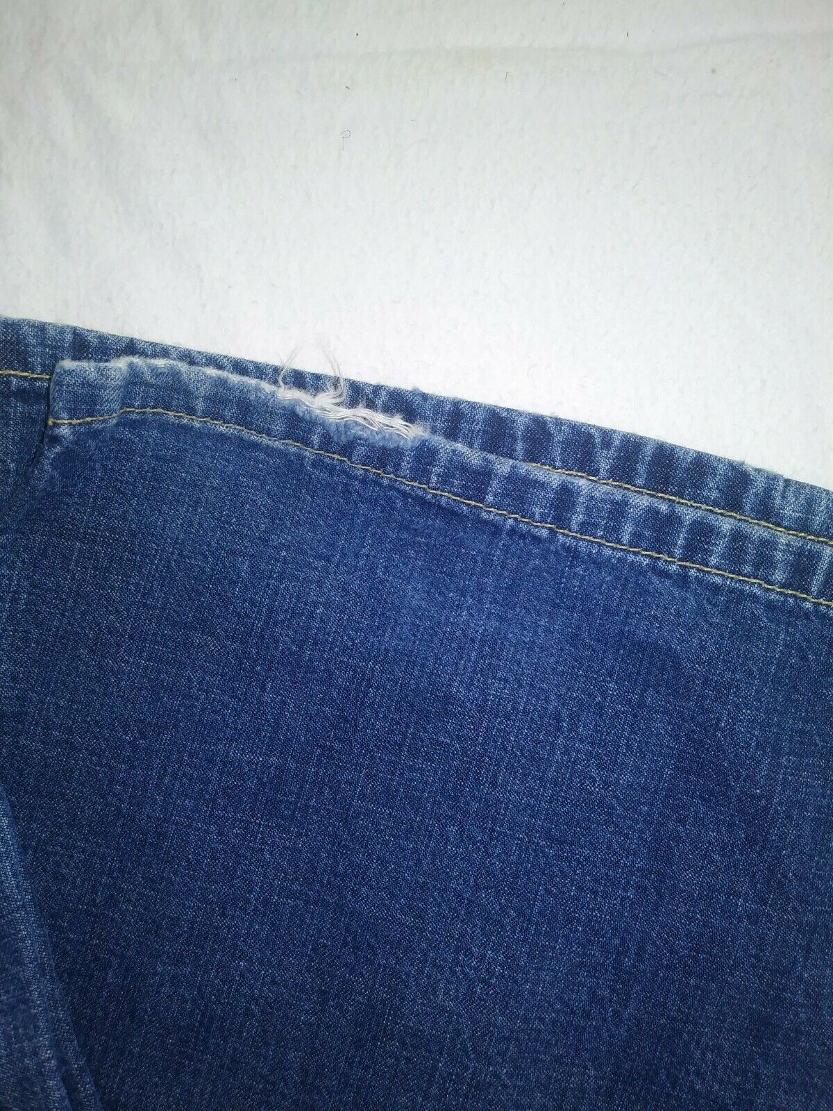 Women's Lucky Brand Dungarees Y2K Wide Leg Denim … - image 3