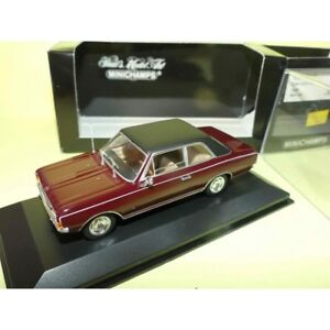 OPEL-COMMODORE-A-1966-Bordeaux-MINICHAMPS-1-43
