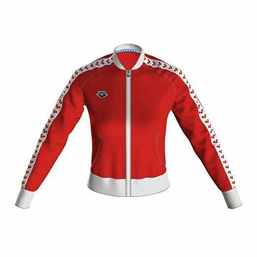Arena - Relax IV Team - Giacca Zip women - Red White Red - 001223401