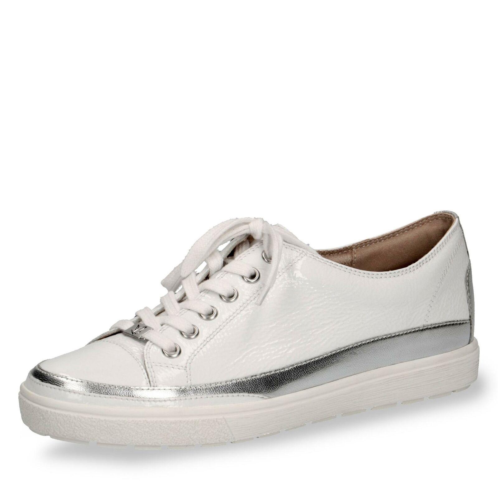 Caprice Damen Schnürschuhe Komfortschuhe Halbschuhe Freizeitschuhe Lack Schuhe