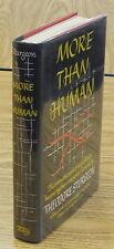 Theodore Sturgeon.  MORE THAN HUMAN.  Farrar, 1953.  1st HC/DJ.  Int'l Fantasy W