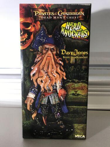 NECA PIRATES OF THE CARIBBEAN RESIN HEADKNOCKER 9/' FIGURE DAVY JONES B//NEW