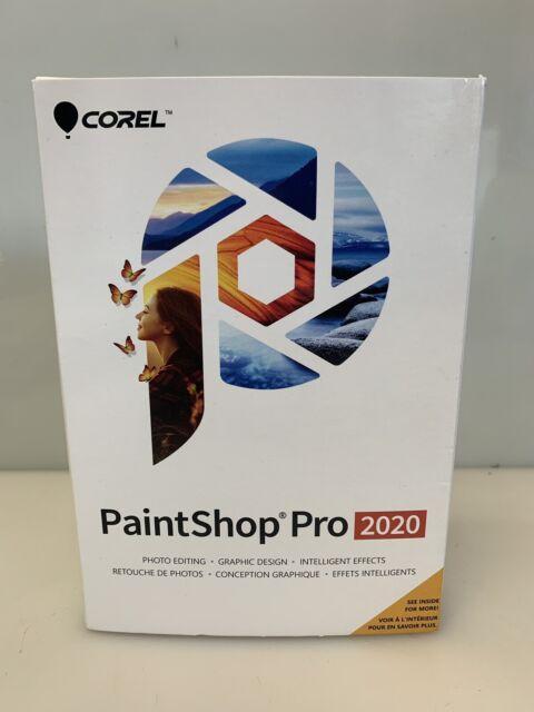 Corel Paintshop Pro 2020 Photo Editing And Graphic Design Software Pc Disc For Sale Online Ebay