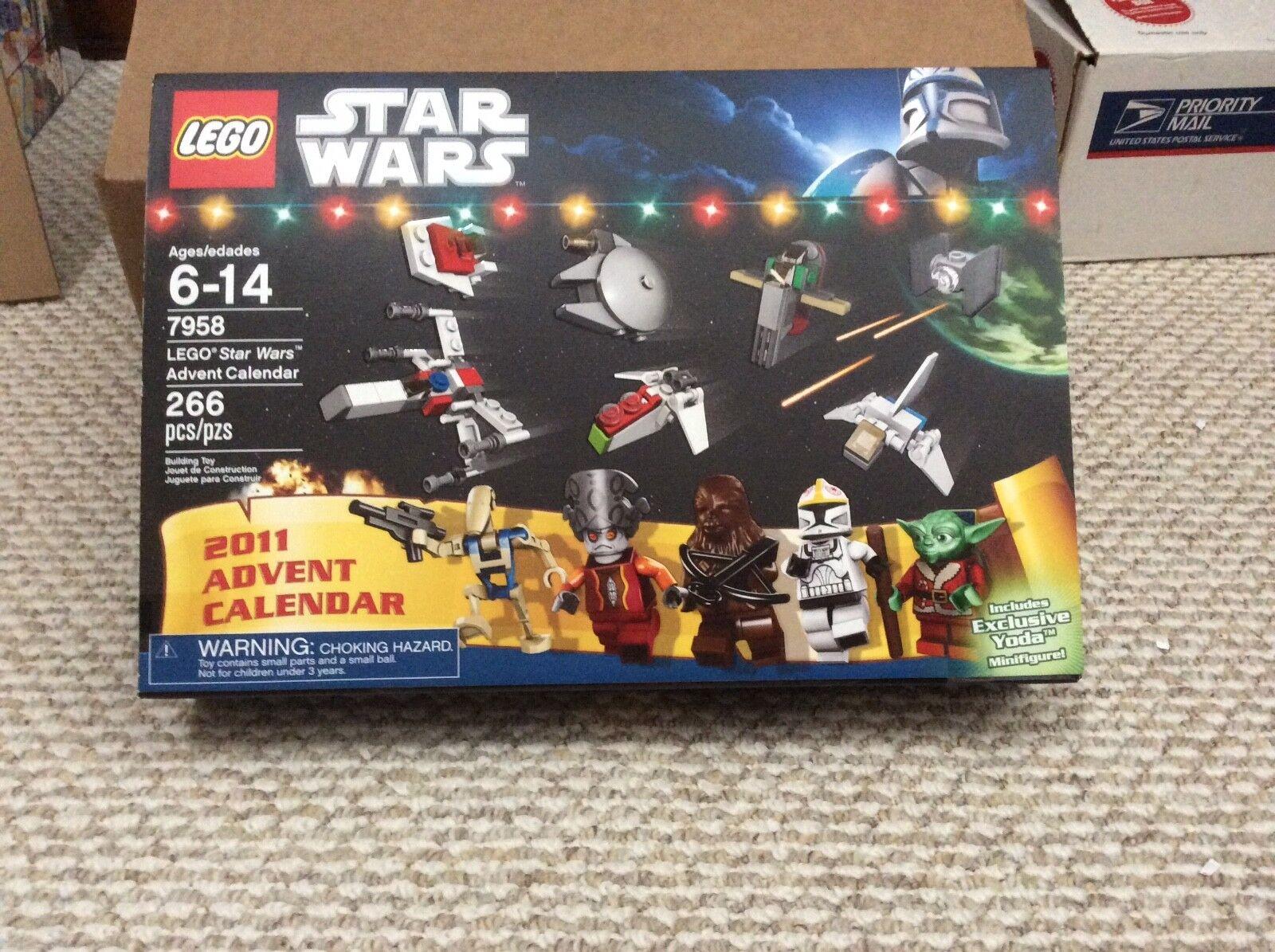 NEW LEGO 7958 2011 stjärnornas krig Adventant Kalender