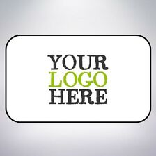 Logo Printed Rectangle Stickers Custom Logo Labels Postage Personalised