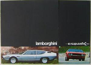 Lamborghini Espada 400 Gt 1973 Original Uk Market Multilingual
