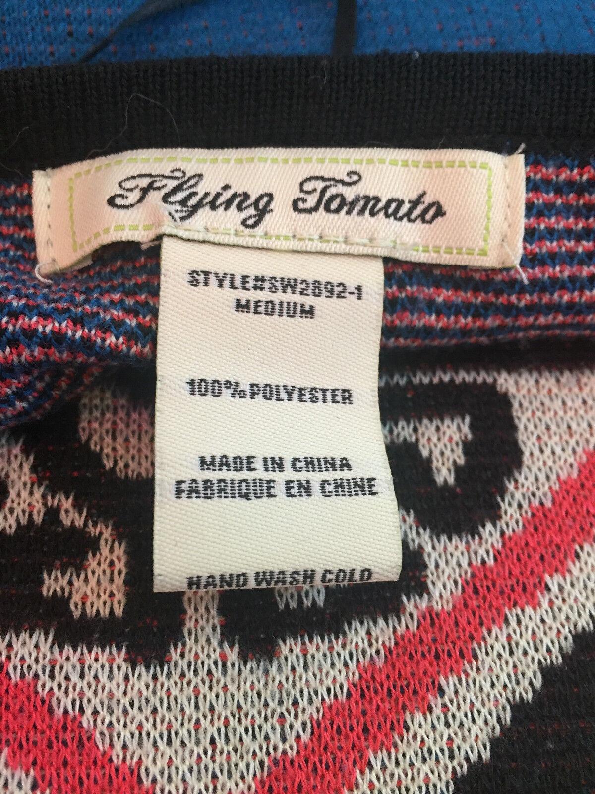 Flying Tomato Knit Sweater Dress Size Medium Sout… - image 2