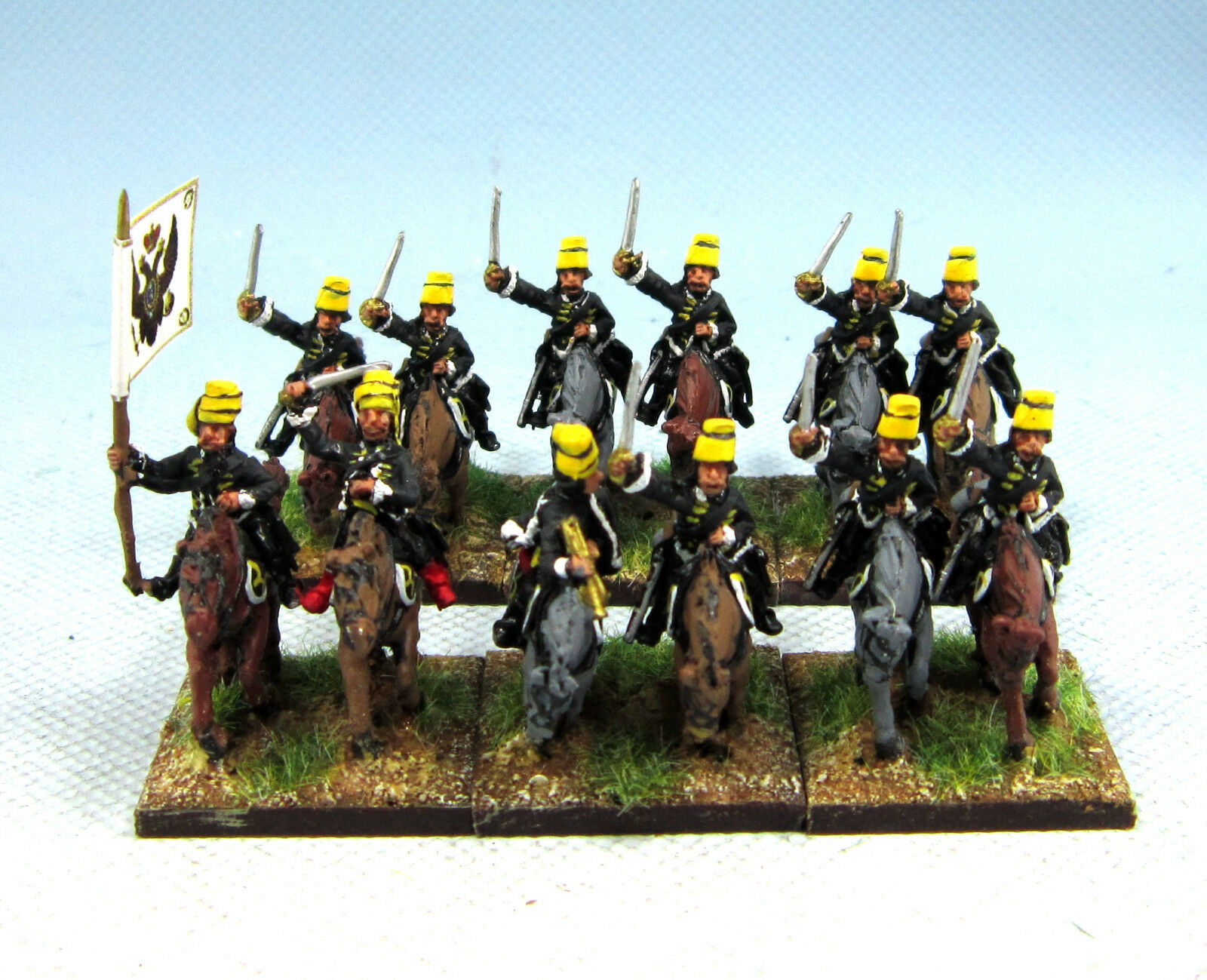 15mm SYW SYW SYW Seven Years War WGS Painted Russian Hussar RB12