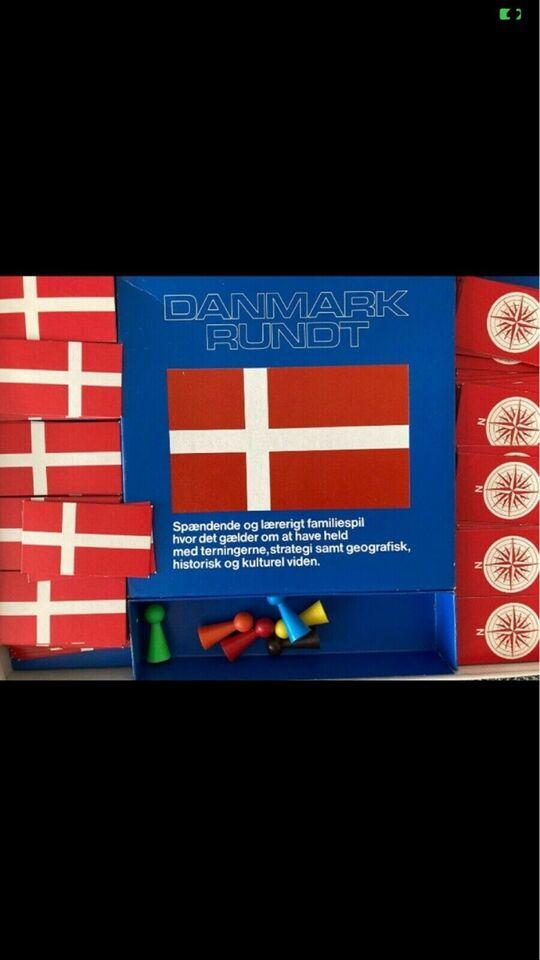 Danmark rundt, Familiespil, brætspil