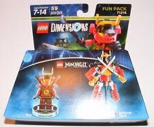 Lego Dimensions Fun Pack - Ninjago Nya and Samurai Mech (71216) NEW