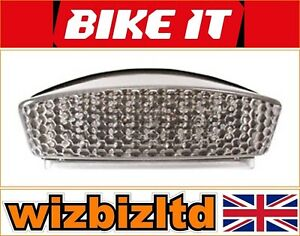 Ducati-Monster-750-Ie-2001-2002-Transparent-LED-Arriere-Clignotant-Avec-LEDD023