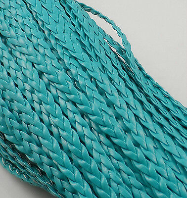 5m Man-made Leather Braid Rope Hemp Cord For Necklace Bracelet 5mm Rope Making
