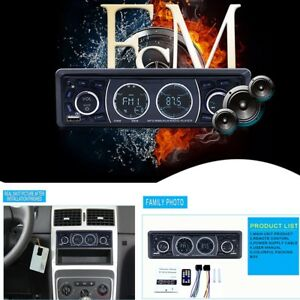 1-DIN-Bluetooth-Car-Stereo-Audio-In-Dash-FM-Aux-Input-Receiver-SD-USB-MP3-Radio