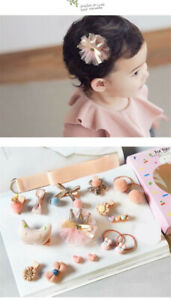 1-Set-Hairpin-Baby-Girl-Hair-Clip-Bow-Flower-Mini-Barrettes-Star-Kids-Infant-18X