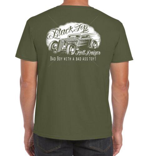 Hotrod 58 Mens Hot Rod T Shirt Rat Garage Vintage Clothing V8 Dad Car Gift 13