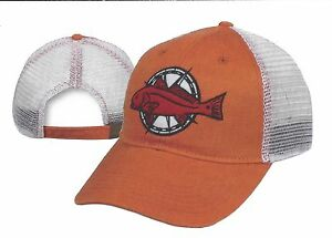 cfdef0cb5 Image is loading REDFISH-MESH-Back-Embroidered-Fishing-Hat