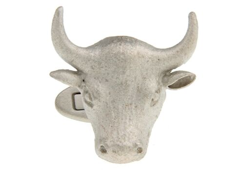 Bull Cufflinks Wall Street Stock Market Broker Steer Dad Wedding Fancy Gift Box
