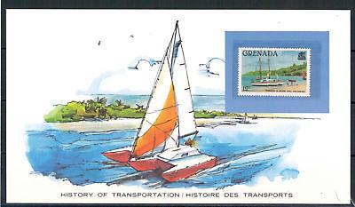 In 1054 Minr Verarbeitung Angemessen Grenada Trimaran Postcard 1980** Exquisite