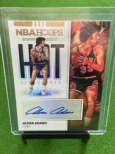 2018-19 Hoops Hot Signatures Alvan Adams AUTO 🔥🔥🔥 Suns Investment