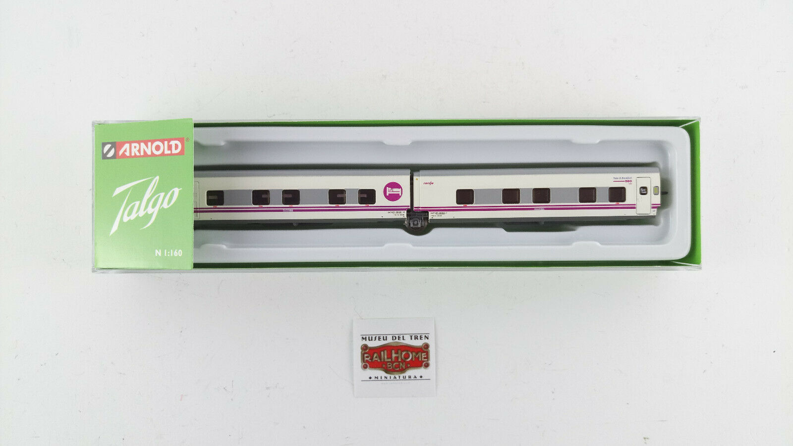 Arnold N Hn4211 - Train Renfe Talgo Operator - Two Cars Bed - New