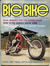 Big Bike Magazine March 1972 '73 Vincent Prototype EX NO ML 121115jhe2