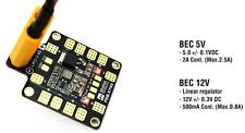 MATEK SYSTEMS PDB-XT60 w/ BEC 5V & 12V POWER DISTRIBUTION BOARD