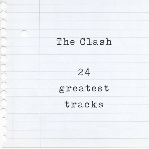 London Calling Mixtape T-Shirt of their 24 Greatest Hits Rock the Casbah