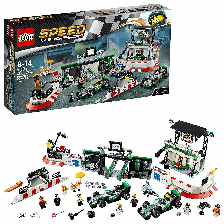 Lego 75883 Speed Champions  Mercedes Amg Petronas Formel 1